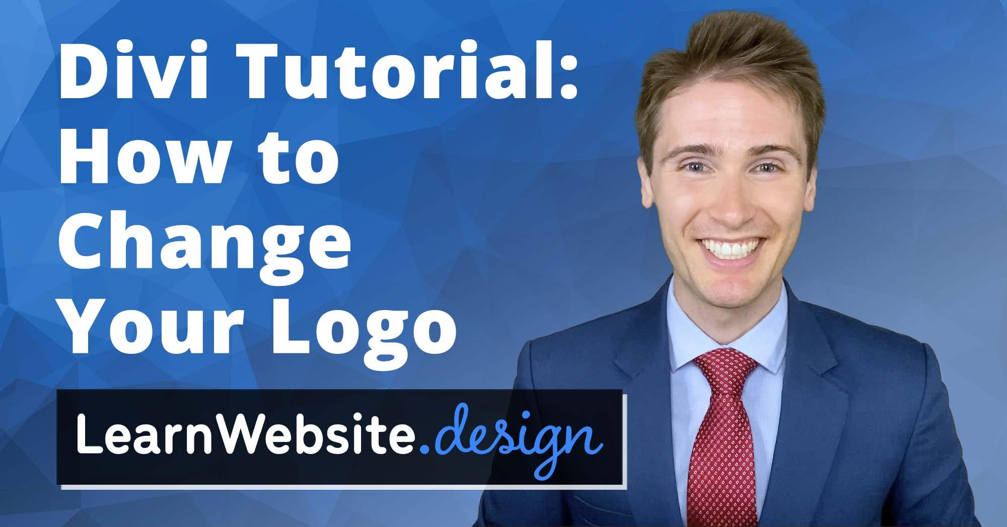 Divi How to Change Logo Tutorial