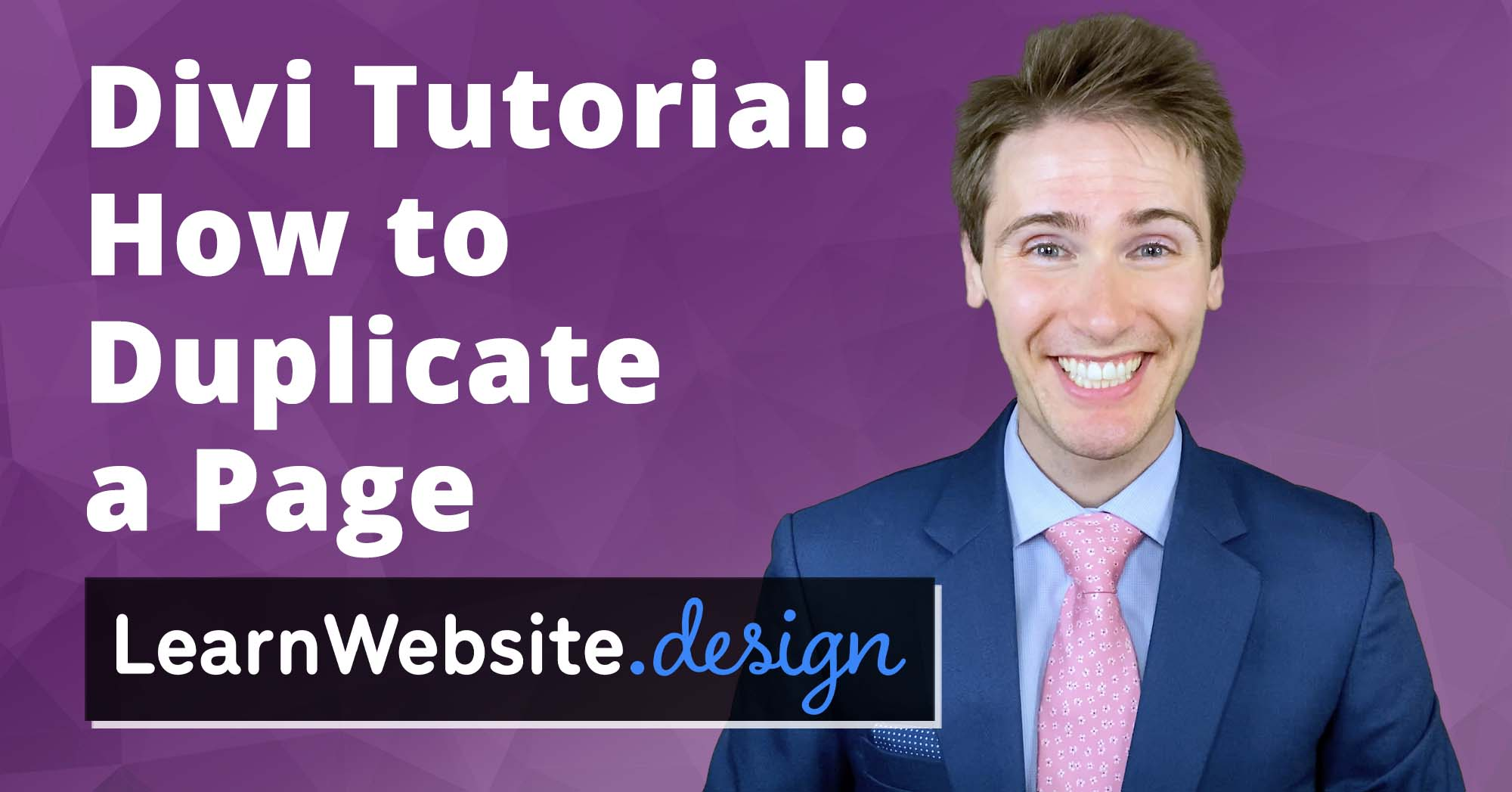 Divi How to Duplicate a Page Tutorial