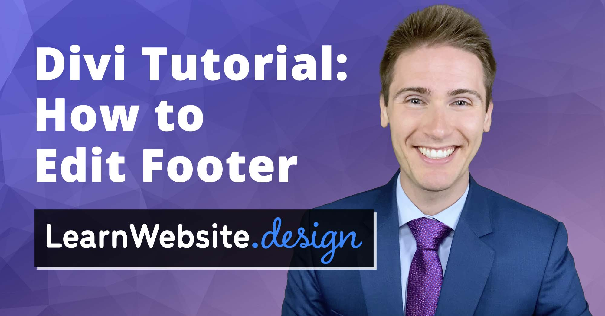 Divi How to Edit Footer Tutorial